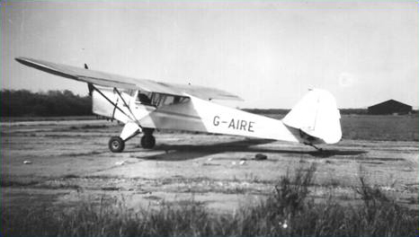 G-AIRE at Bardney in 1958 (Photo: Barry Moores)